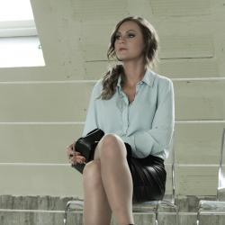 Les nuits d une secrétaire en jupe de cuir